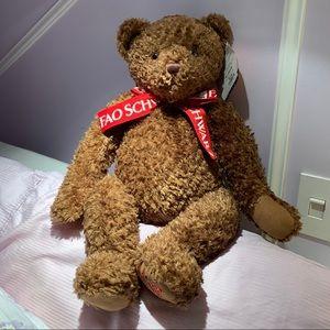 FAO SCHWARZ Brown Teddy Bear